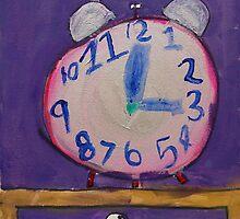 Time by Zoe Thomas age 7 by Julia  Thomas
