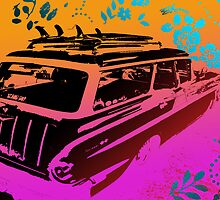 Surf Wagon by thefluxcapacita