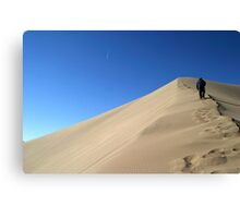 Large Sand Dune Canvas Print