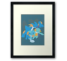 Mudkip Evolution Framed Print