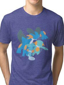Mudkip Evolution Tri-blend T-Shirt