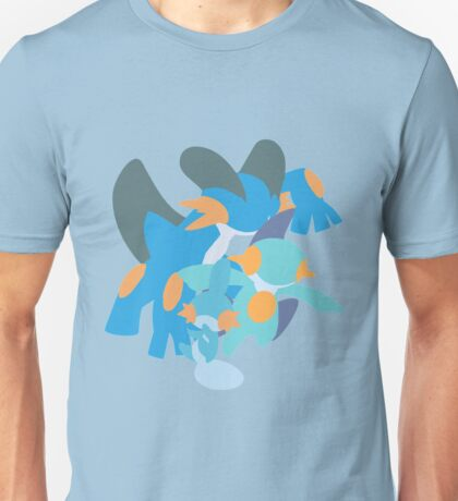 Mudkip Evolution Unisex T-Shirt