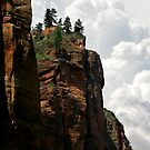 Bryce Canyon Cliffs by Christopher Toumanian