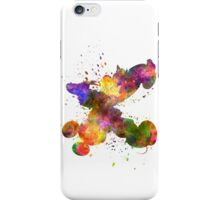 Mickey Mouse and Donald Duck in watercolor iPhone Case/Skin
