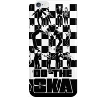 Do the Ska - two tone iPhone Case/Skin
