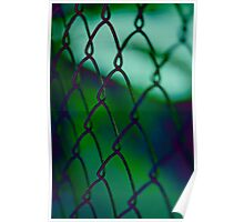 Tropical Fence Poster