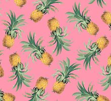 PINEAPPLES (PINK) by cybergold