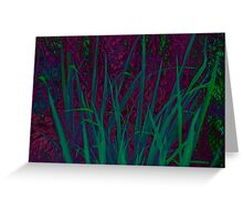 Tropical Darkness Greeting Card
