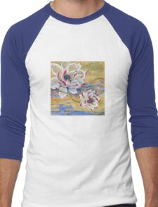 """In the Stream of Consciousness"" from the series ""In the Lotus Land"" Men's Baseball ¾ T-Shirt"