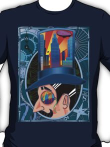 The Man who Couldn't Dream - Blue T-Shirt