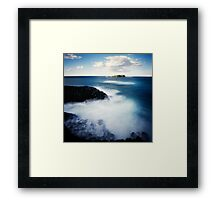 Fingal Head Pinhole ll Framed Print