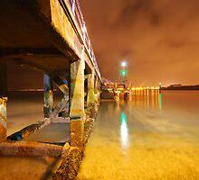 Victoria Pier by Andrew Paul Hayward