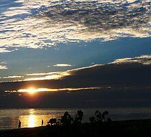 South China Sea sunset by Stak