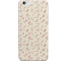Mini romantic handpainted seamless pattern iPhone Case/Skin
