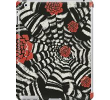 Caught in the spider web iPad Case/Skin