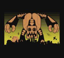 Robot Attack by brev87