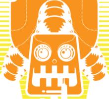 Robot Attack Sticker