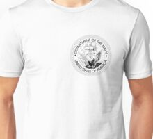 Department of the Navy  Crest Unisex T-Shirt