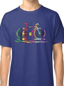 Rainbow bicycle Classic T-Shirt