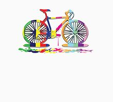 Rainbow bicycle Men's Baseball ¾ T-Shirt