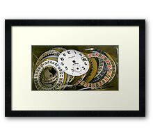 Get time Framed Print