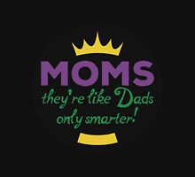 Moms vs Dads Womens Fitted T-Shirt