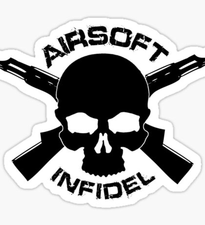 Airsoft Infidel Sticker