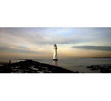 Winter Lighthouse Photographic Print