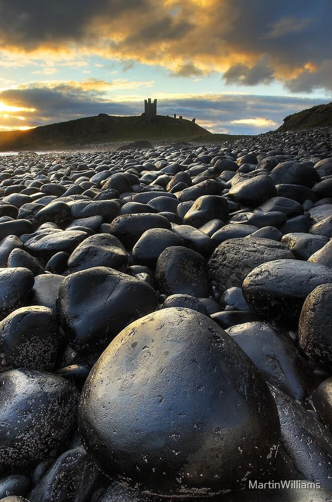 Dunstanburgh Boulders by MartinWilliams