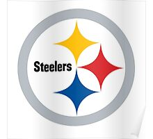 pittsburgh steelers logo 4 Poster