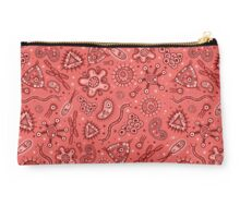 Microbes - Red / Pink Studio Pouch