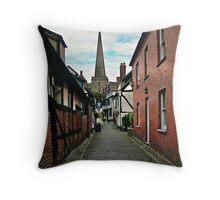 Narrow Street Throw Pillow
