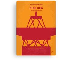 No081 My Star Trek - 1 minimal movie poster Canvas Print