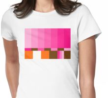 GIRLIE TEST PATTERN Womens Fitted T-Shirt
