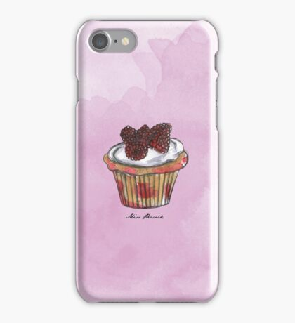 Wildberries Cupcake iPhone Case/Skin