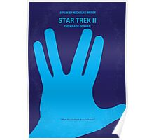 No082 My Star Trek - 2 minimal movie poster Poster
