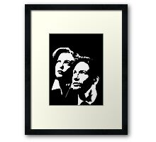 X files Framed Print