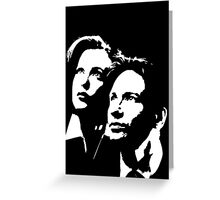 X files Greeting Card