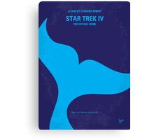 No084 My Star Trek - 4 minimal movie poster Canvas Print