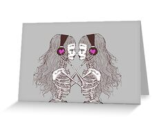 Resonance of AfterLife Greeting Card