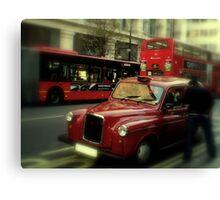 Black Cab? Canvas Print