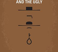 No090 My The Good The Bad The Ugly minimal movie poster by JiLong