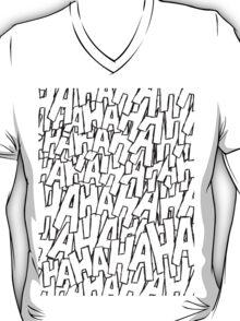 Ha Ha Ha - Purple T-Shirt