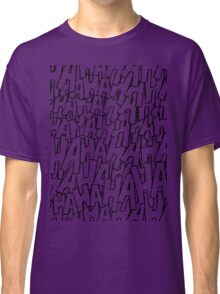 Ha Ha Ha - Purple Classic T-Shirt