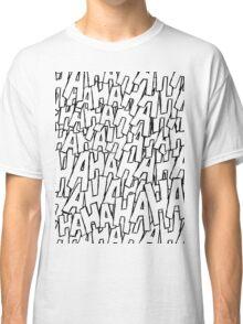 Ha Ha Ha - Purple Classic T-Shirt