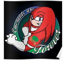 Emeralds are Forever Poster