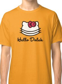 Hello Dalek Classic T-Shirt