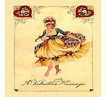 Vintage Valentine Message Photographic Print