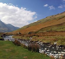 Honister Pass by Asterixphoto