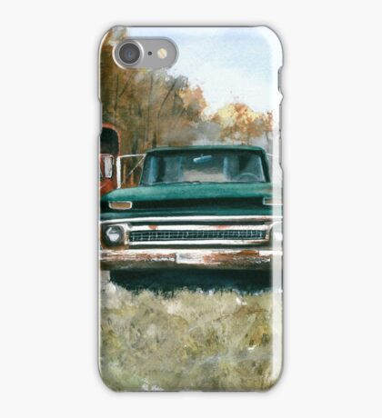 Westchester Work Trucks #2 iPhone Case/Skin